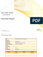 3G OSS Tools Ericsson Huawei