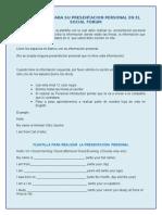 Email # 2- Plantilla Presentacion.