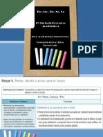 Proyecto Formación Cívica y Ética Secundaria