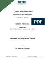 trabajo final EL POSITIVISMO, DERECHO Y GLOBALIZACIÓN EN MÉXICO