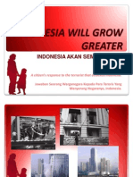 Indonesia Against the Terorrists - Cantik Selamanya