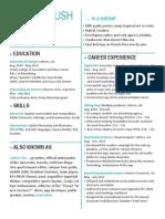 Sydnee Bush _ Creative Resume