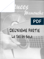 Astuces de La Guitare Manouche