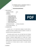 PLAN ESPECIFICO DE PRÀCTICA IV