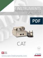 Calotest Brochure