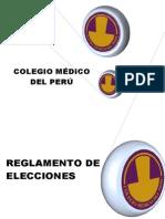12 Junio 2011 CMP Reglamento Electoral