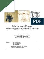 Campos Electromagneticos y Salud Humana