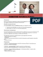 Corso per Animatori Interculturali del Centro Interculturale di Torino