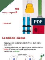 Chimie BI - T4 - Liaisons Chimiques