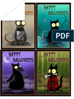Echo Halloween Cards