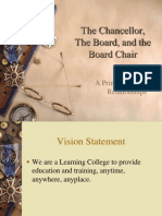 The Chancellorand Board