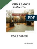 Cloud 9 Ranch Club - Rule Book