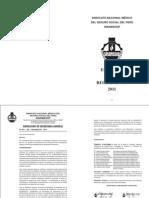 29 Agosto 2011 SINAMSSOP Estatuto y Reglamento