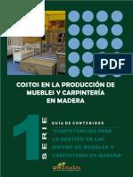 Muebles Madera COSTOS