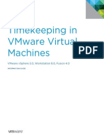 Timekeeping in VirtualMachines