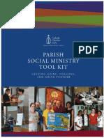 2013 Annual Gathering Parish Social Ministry Institute Tool Kit
