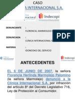 Caso Clinica Internacional