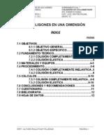 Info Fis-100 (Colisiones en una dimensión)