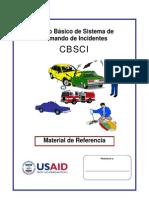 Material de Referencia CBSCI