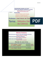 04-Métodos Gerais da Ciência