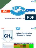Blue Corridor NGV Rally 2013 - Overview