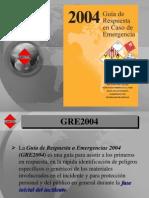 Presentacion GRE 2004