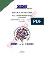 Raporti i plotë i OSBE