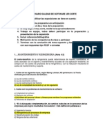 Cuestionario Calidad de Software 2 Corte
