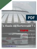 Rapport - Béatrice Nollet et Lucas Gaudissart - Mexico - Michel Calvino