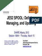 Jes2 Spool