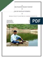 Bhel Haridwar Training PPT