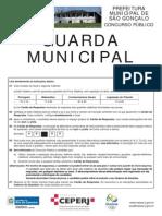 Guard a Municipal