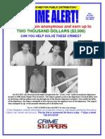 Crime Alert 3400 S Oneida