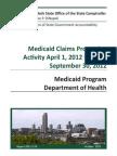 Comptroller's Medicaid Audit