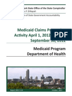 Comptroller's Medicaid Audit