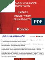 CLASE_Nº5_UNIDAD_II_Mision y Vision de un proyecto
