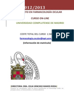 2012-2013 ExpertoFarmacologíaOcular-Programa