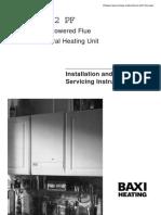 Baxi Solo 2 boiler installation guide