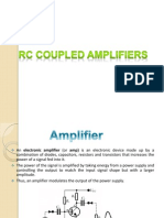Frequency Response of Two Stage Rc Coupled Amplifier