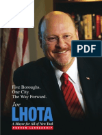 Joe Lhota Policy Book