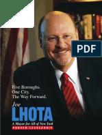 Joe Lhota Policy Book