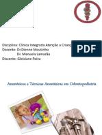 Técnica Anestesica Em Odontopediatria