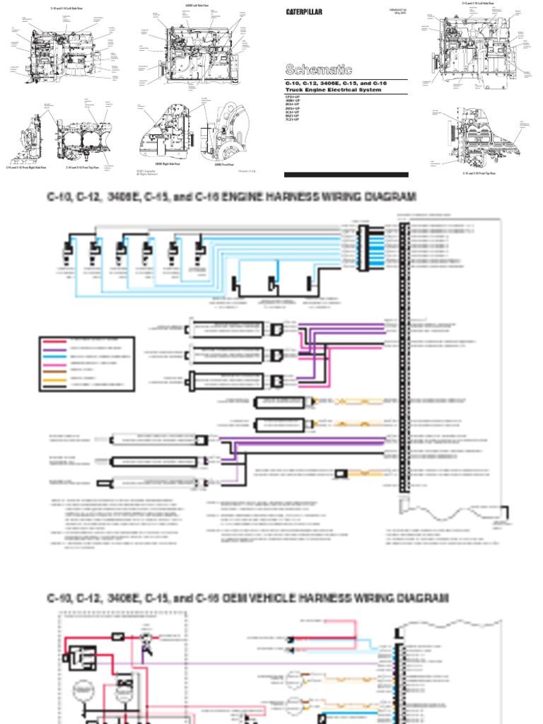 Cat C16 Wiring Harness Pin Not Lossing Diagram Caterpillar Plugs Data Rh 1 Hrc Solarhandel De Av Cable With