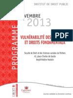 Programme Bulletin Inscription