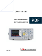 Manual Osc Promax Od 571