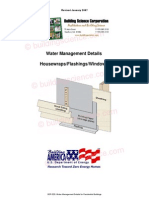 Water Management Details for Residential Buildings