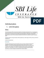 Individual Plans 1