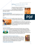 Children's Library 2012-2013 Annual Report