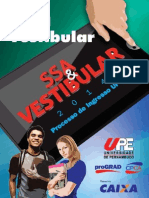Manual Do Vestibular  da upe Tradicional 2014