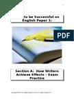 Paper 1 Writers Exam Prac GCSE